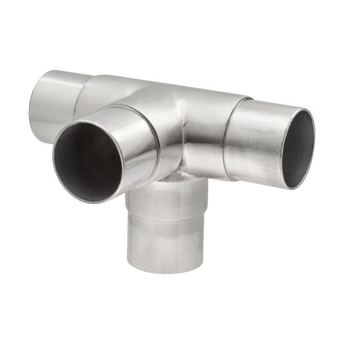 2-1/4in H x 3in W | Satin Stainless Steel Finish | Flush Fitting