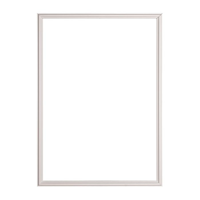 Trim Fast | White High Impact Polymer | Panel Frame with Adhesive Back | Outside Dimensions 23-5/8in x 31-1/2in x 9/16in