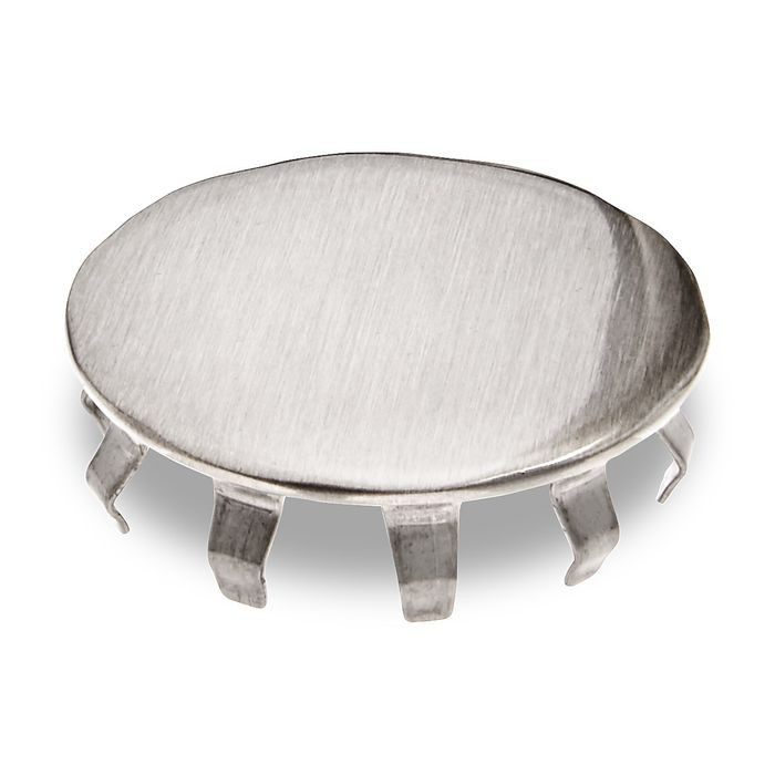 1-1/2in Dia | Satin Stainless Steel Finish | Spring End Cap