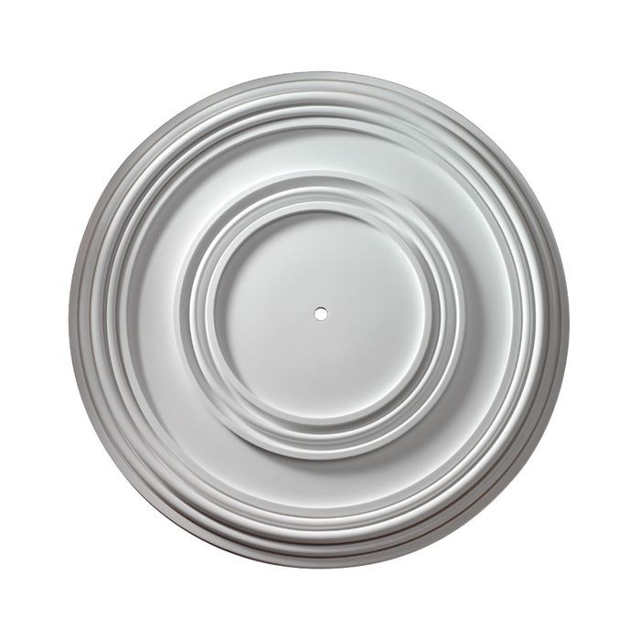 Fypon | 35-3/4in Dia | Primed White Polyurethane | Smooth Ceiliing Medallion