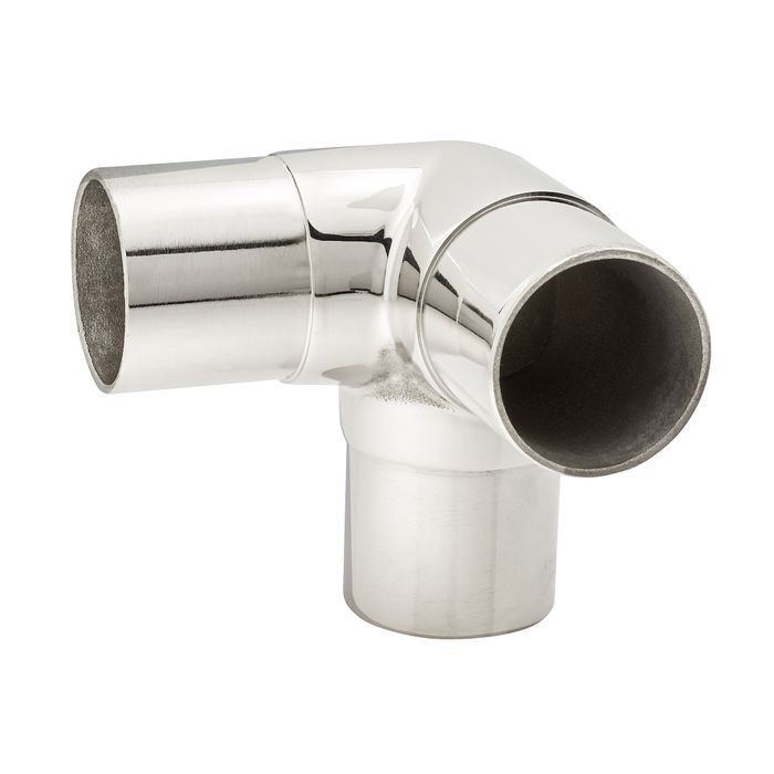1-1/2in Dia x 1-15/16in W x 1-15/16in H | Polished Stainless Steel Finish | Flush Fitting