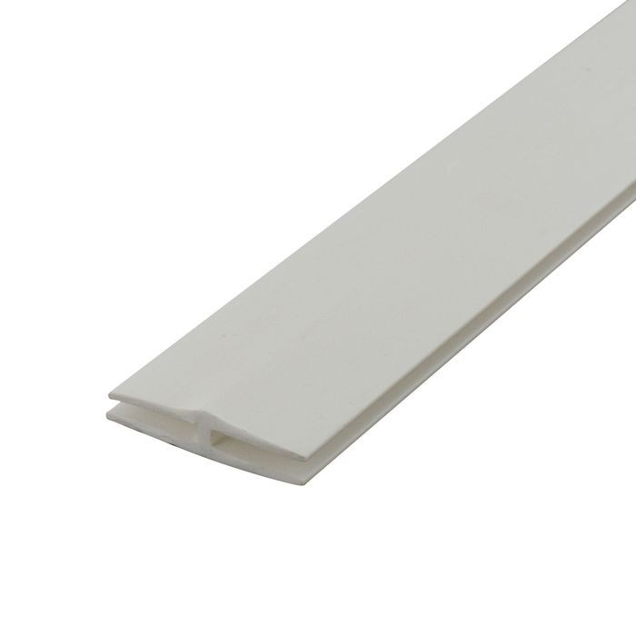 1/8in White Styrene | Divider Moulding | 8ft Length