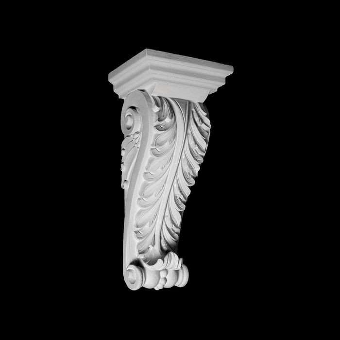 "11"" Wide x 23-3/4"" High Unfinished Polymer Resin Corbel"