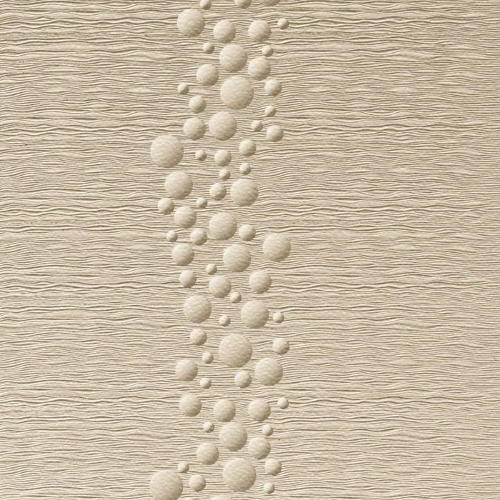 10' Wide x 4' Long Cascade Pattern Almond Finish Thermoplastic Flexlam Wall Panel