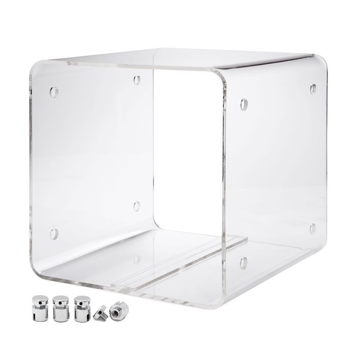 "12""D X 12""L X 12""H Clear Cable Mount Display Cube Kit"
