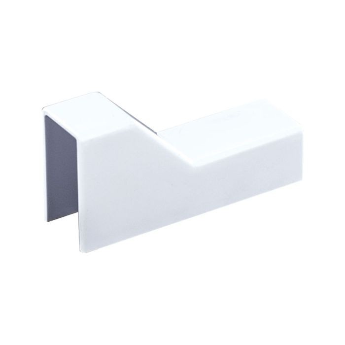 "1"" Long White Plastic Ceiling Drop"