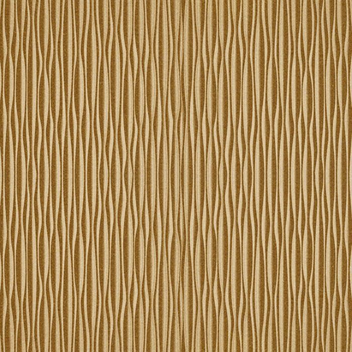 10' Wide x 4' Long Mojave Pattern Argent Gold Vertical Finish Thermoplastic Flexlam Wall Panel