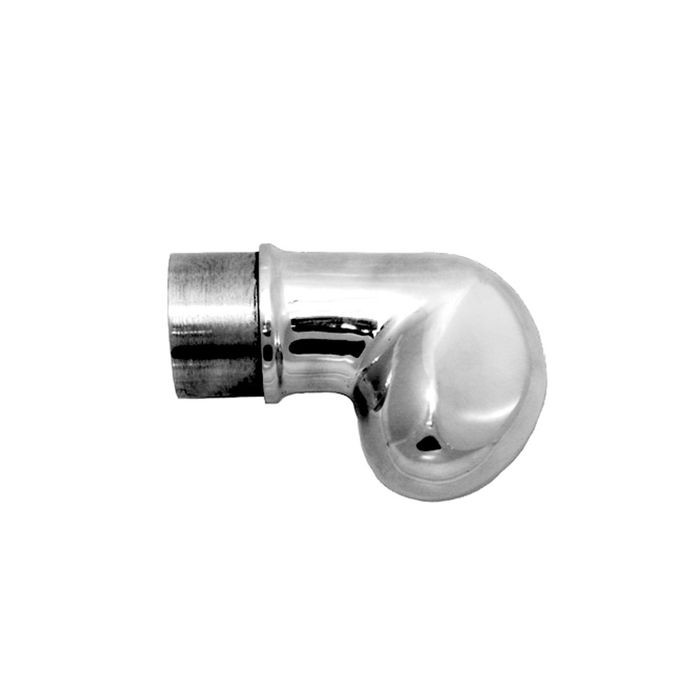 1-1/2in Dia | Polished Stainless Steel Finish | End Caps | S82-224 Series
