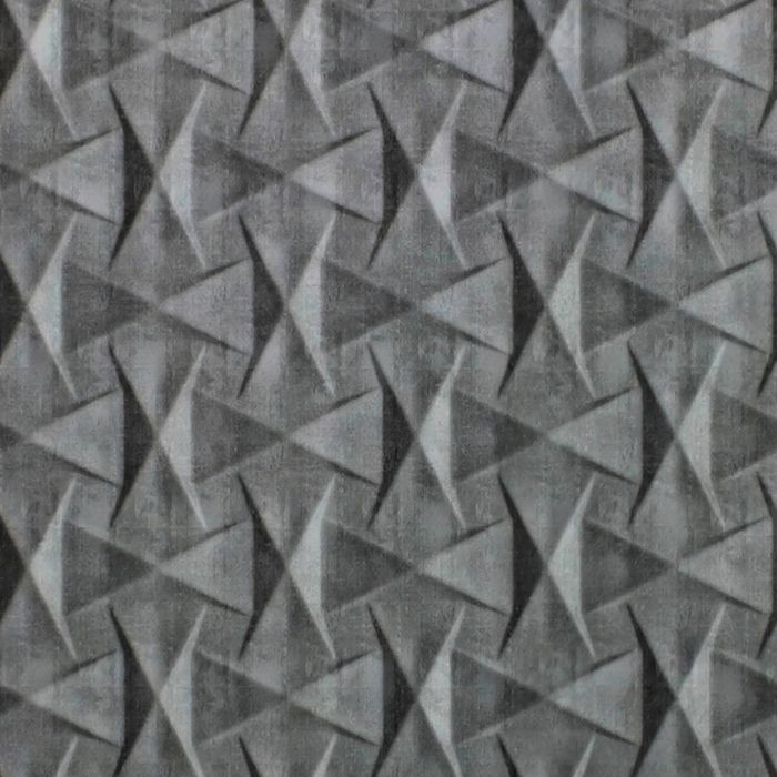 10' Wide x 4' Long Bowtie Pattern Crosshatch Silver Finish Thermoplastic Flexlam Wall Panel