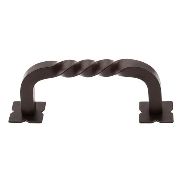 Normandy Pull W/Backplates Oil Rubbed Bronze