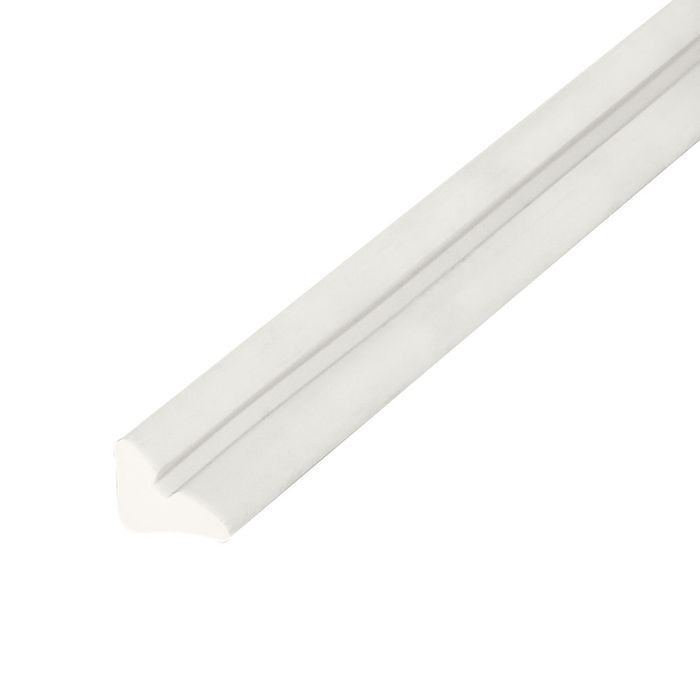 "1/4"" x 5/16"" White Staple Type Panel and Glass Retainer 500' Coil"