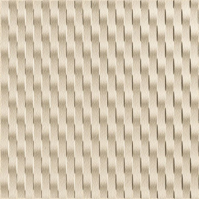 FlexLam 3D Wall Panel | 4ft W x 10ft H | Weave Pattern | Almond Finish Vertical
