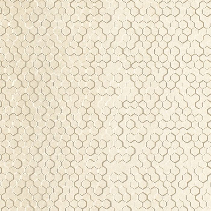 FlexLam 3D Wall Panel | 4ft W x 10ft H | Beehive Pattern | Winter White Finish