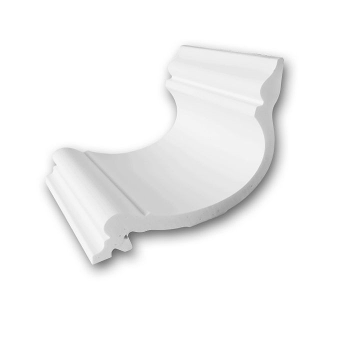 Orac Decor | High Density Polyurethane Crown Moulding | Primed White | 4in Sample Piece | C341 Series