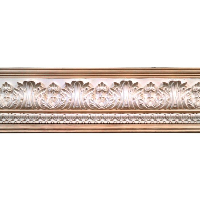 10in H x 1-1/2in Proj | Unfinished Polymer Resin | 480-B Series with Bottom Style 8 | Frieze Moulding | 5ft Long