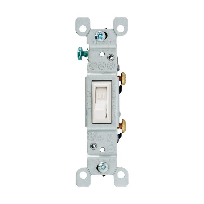 White Toggle Switch