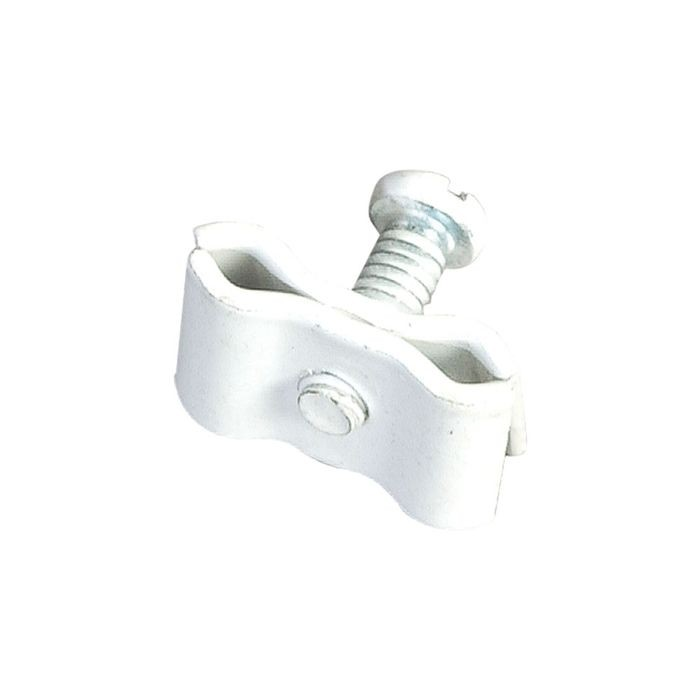 White Joiner Clip For Grid Straight Or Angle
