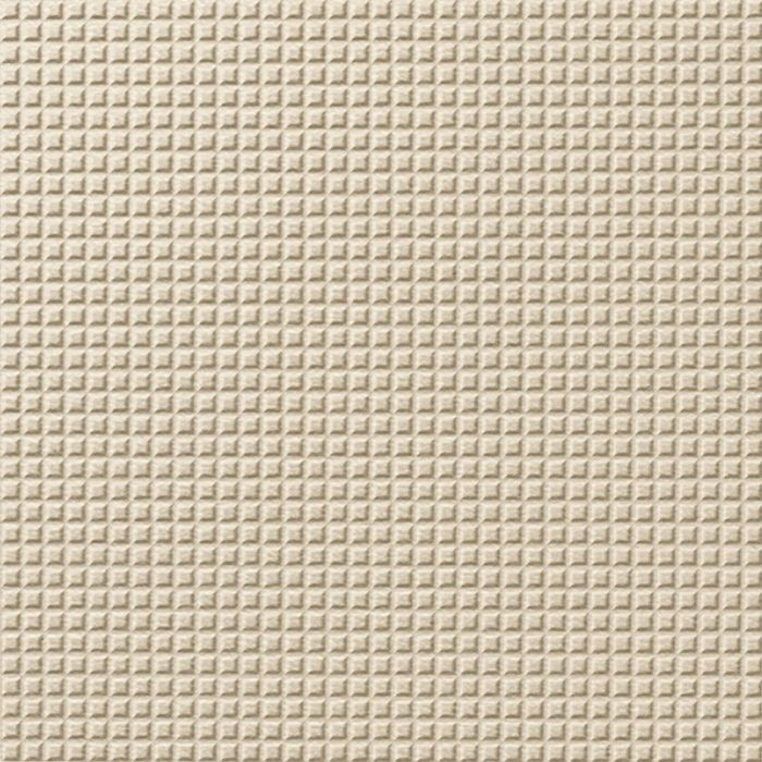 FlexLam 3D Wall Panel | 4ft W x 10ft H | Square 5 Pattern | Almond Finish
