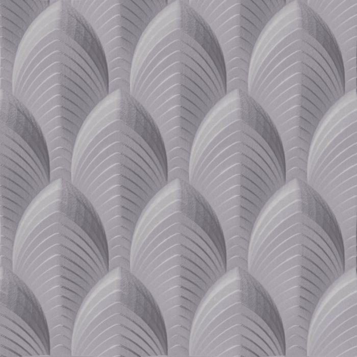 10' Wide x 4' Long South Beach Pattern Lavender Finish Thermoplastic Flexlam Wall Panel