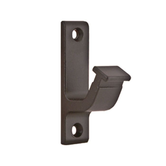 Oil Rubbed Bronze Vertical Hook Type Support Bracket for Rolling Ladder