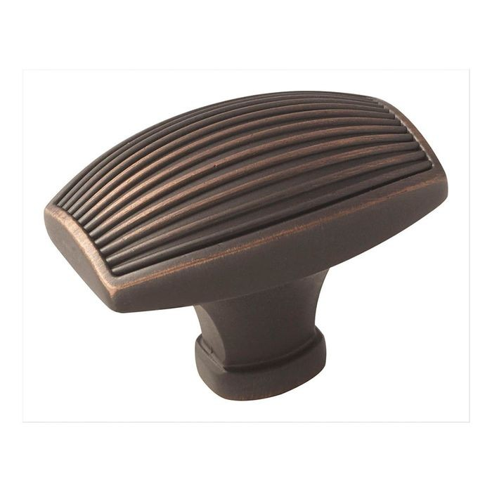 "1 3/4"" Square Knob Oil Rubbed Bronze"