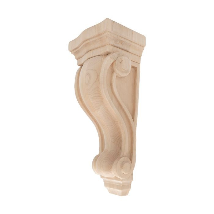Unfinished | Solid North American Hardwood Corbel | RWC39 Series