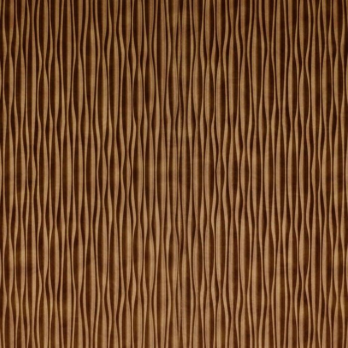 FlexLam 3D Wall Panel | 4ft W x 10ft H | Mojave Pattern | Antique Bronze Vertical Finish