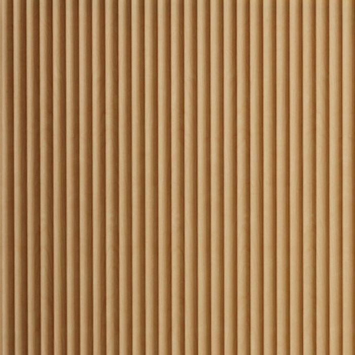 FlexLam 3D Wall Panel | 4ft W x 10ft H | Rib2 Pattern | Light Maple Finish