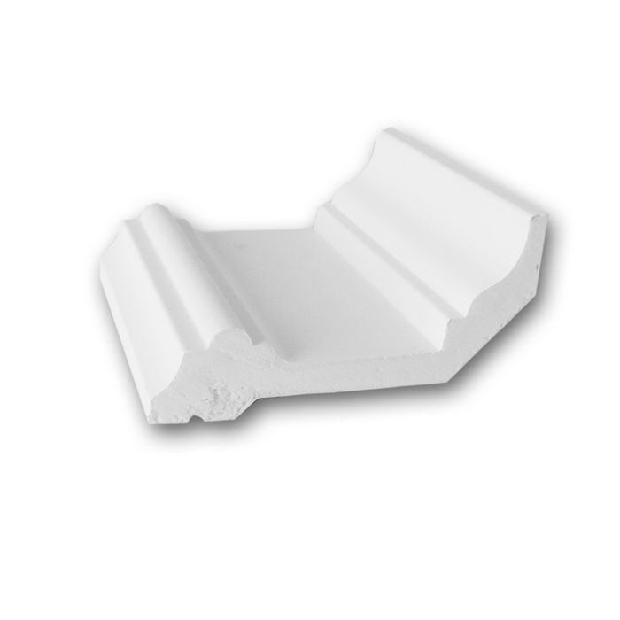 Orac Decor | High Density Polyurethane Crown Moulding | Primed White | 4in Sample Piece | C321