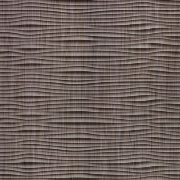 10' Wide x 4' Long Gobi Pattern Bronze Strata Finish Thermoplastic Flexlam Wall Panel