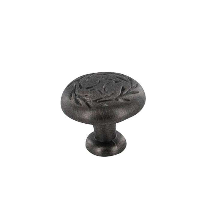 "1 1/4"" Dia. Weathered English Nickel Knob"