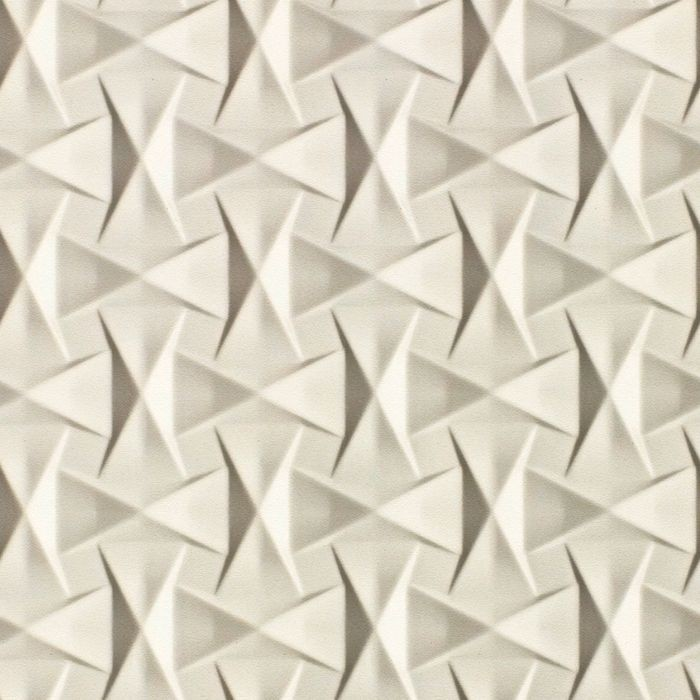 10' Wide x 4' Long Bowtie Pattern Winter White Finish Thermoplastic Flexlam Wall Panel