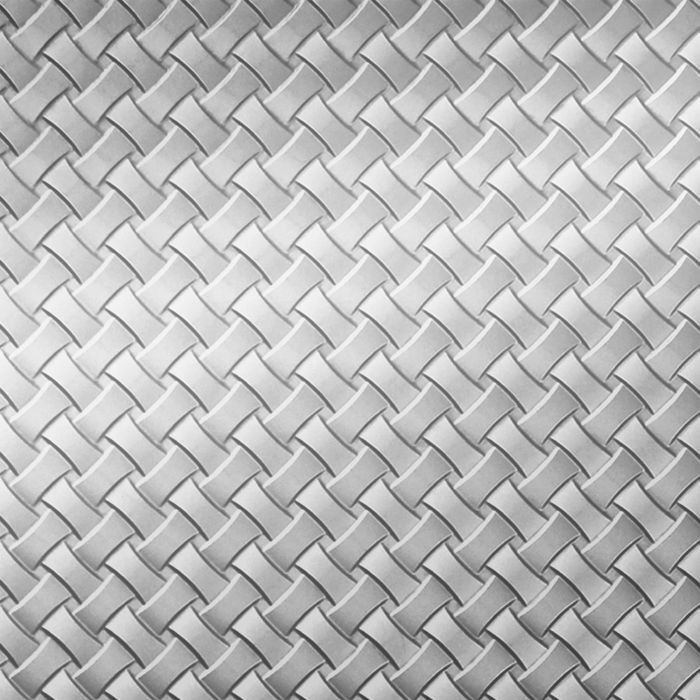 FlexLam 3D Wall Panel | 4ft W x 10ft H | Celtic Weave Pattern | Mirror Finish