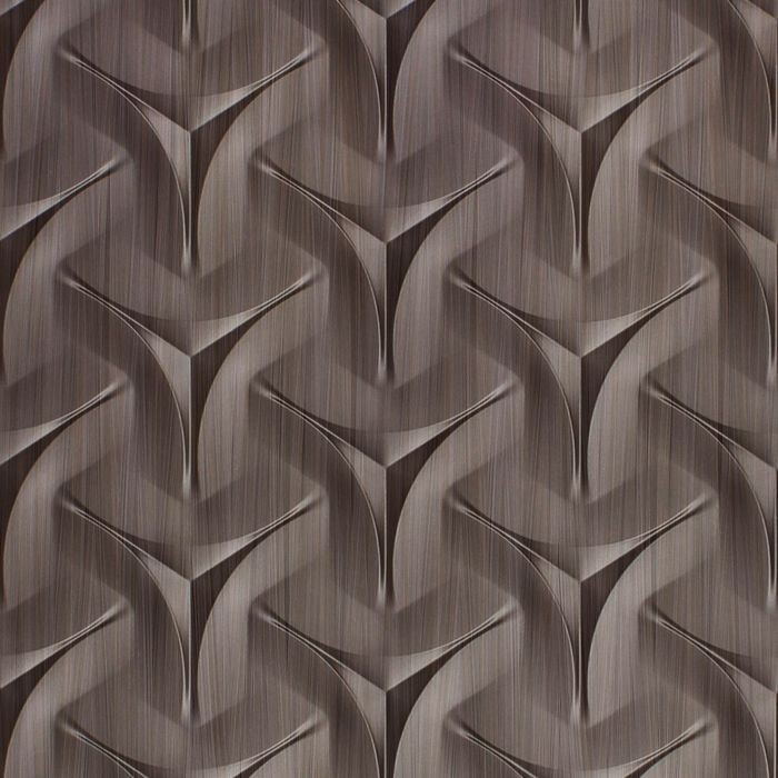 10' Wide x 4' Long Japanease Weave Pattern Bronze Strata Finish Thermoplastic Flexlam Wall Panel