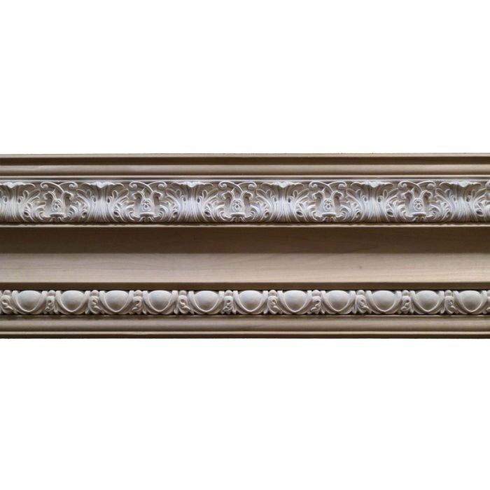 7-1/2in H x 1-1/4in Proj | Unfinished Polymer Resin | 440-C Series | Frieze Moulding | 5ft Long