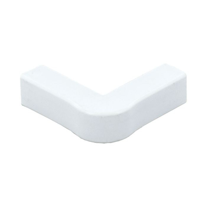 "1"" Long White Plastic Outside Corner"