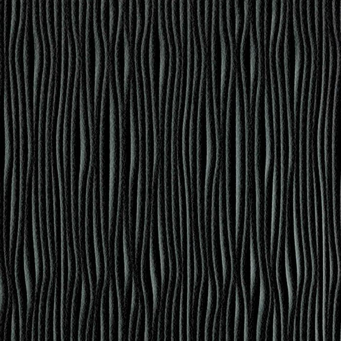 10' Wide x 4' Long Gobi Pattern Eccoflex Black Vertical Finish Thermoplastic Flexlam Wall Panel
