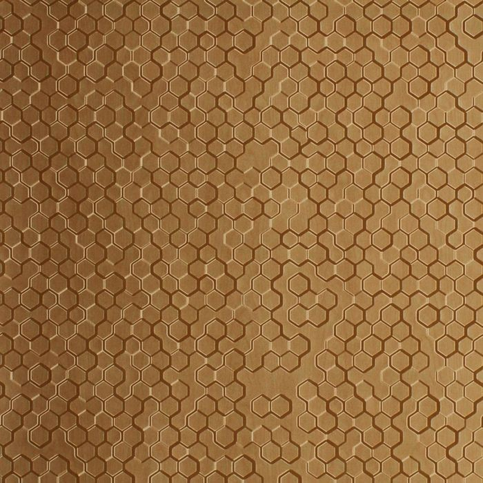 10' Wide x 4' Long Beehive Pattern Light Maple Finish Thermoplastic Flexlam Wall Panel