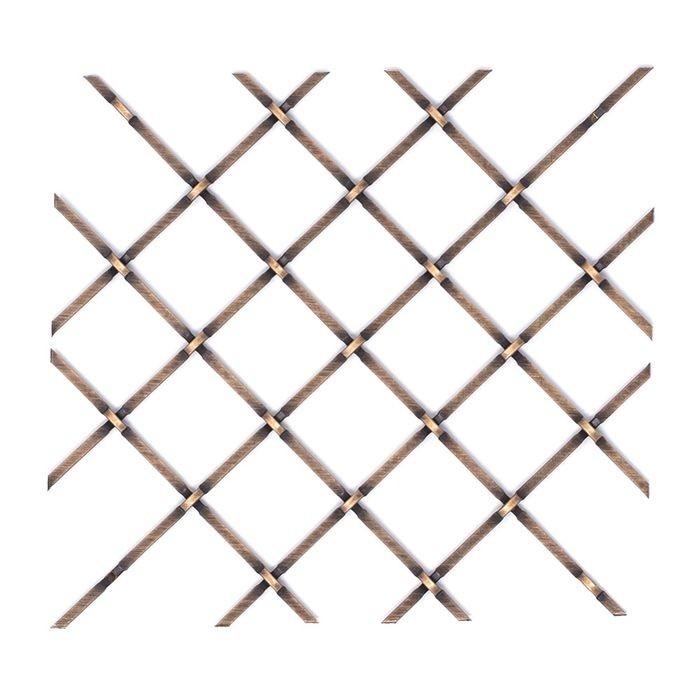 Square Press Crimp Woven Wire Grill Outwater Plastics