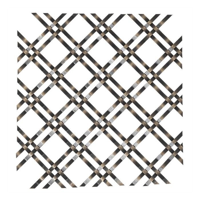 Flat Single Crimp Woven Wire Grill Outwater