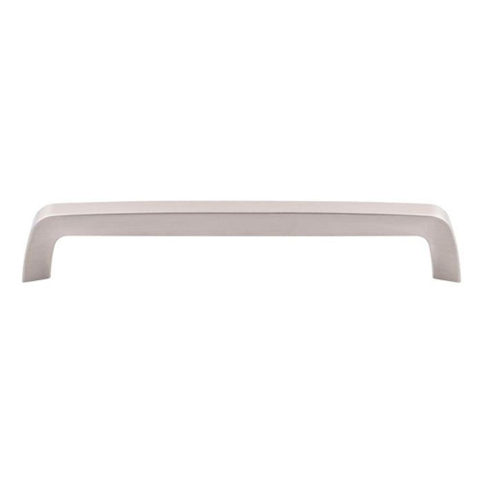"Tapered Bar Pull 7 9/16"" C/C Brushed Satin Nickel"