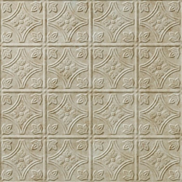 10' Wide x 4' Long Savannah Pattern Travertine Finish Thermoplastic Flexlam Wall Panel