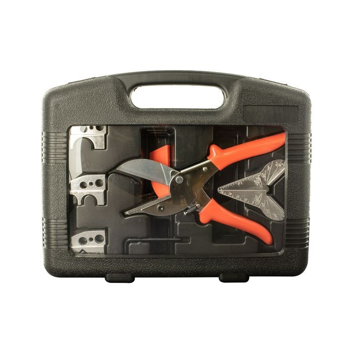 Multipurpose Cutter With Five Interchangable Anvils And Storage Case