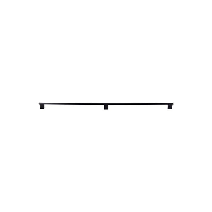 "Wellington Bar Pull  2 X 18 9/16"" Flat Black (3 Posts)"