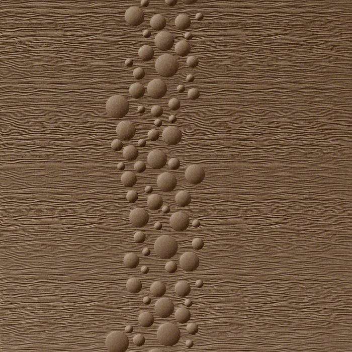 10' Wide x 4' Long Cascade Pattern Argent Bronze Finish Thermoplastic Flexlam Wall Panel