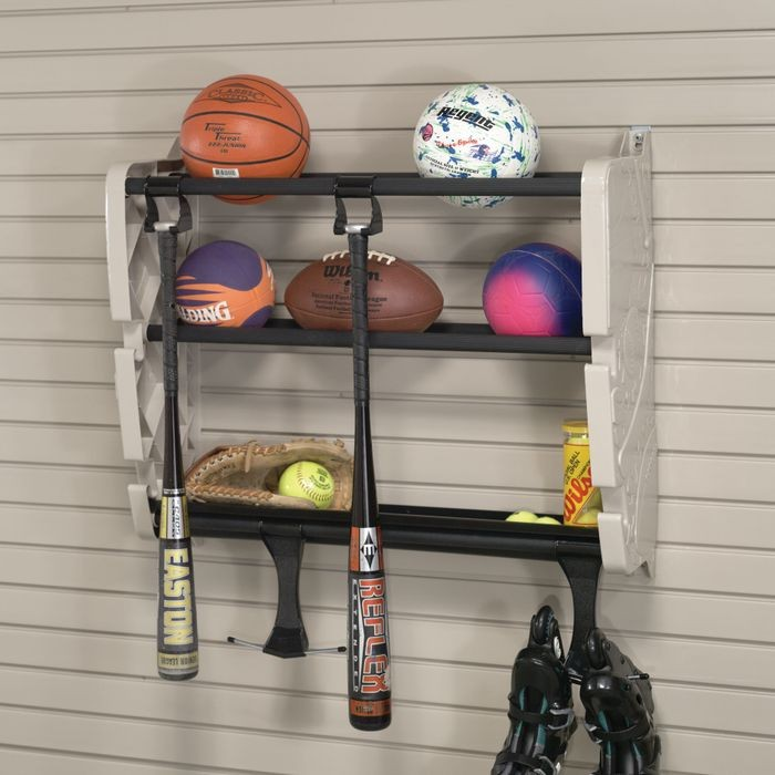 Tan Plastic Sports Rack
