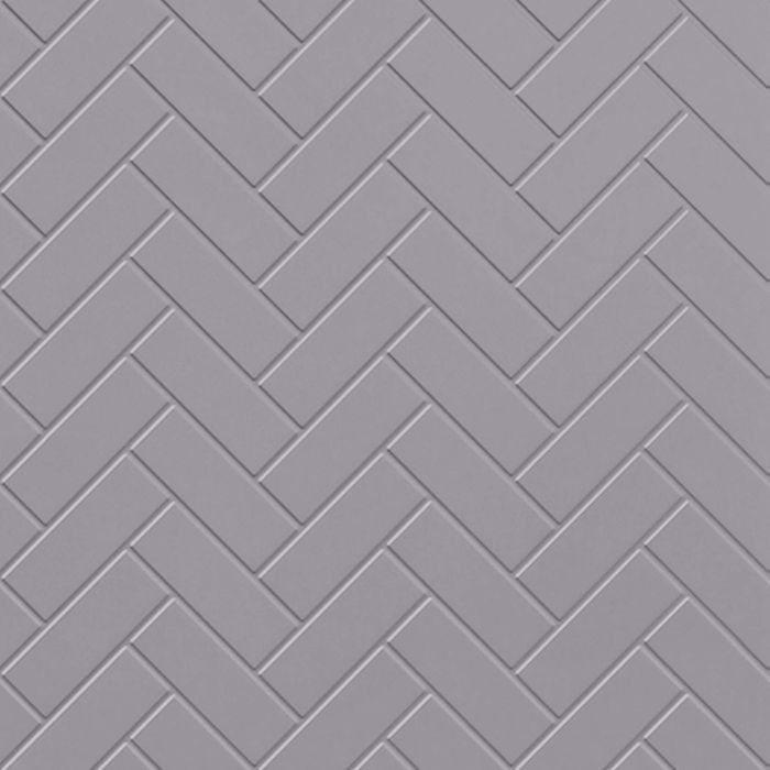 FlexLam 3D Wall Panel | 4ft W x 10ft H | Herringbone Pattern | Lavender Finish