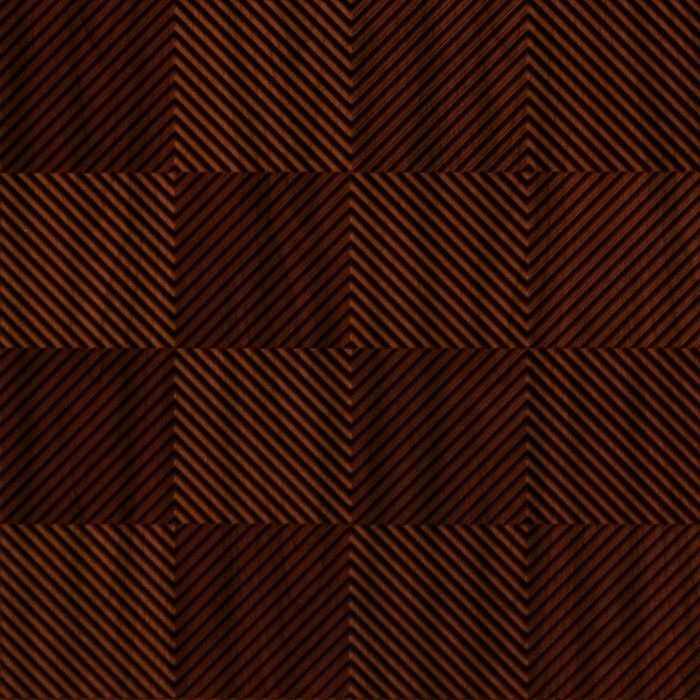 FlexLam 3D Wall Panel | 4ft W x 10ft H | Quadro Pattern | Welsh Cherry Finish