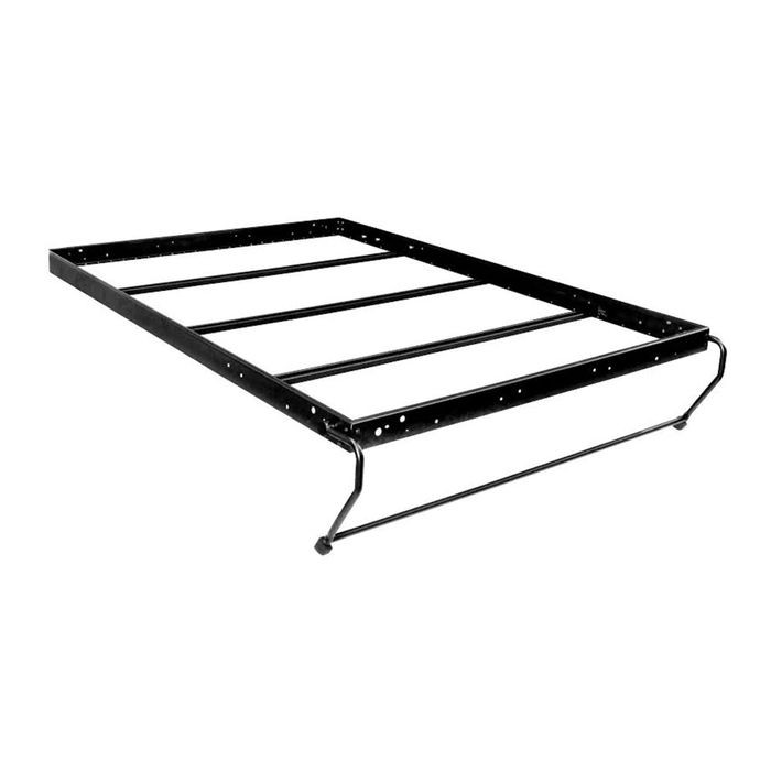 "Single/ Twin Horizontal Alpha Panel Bed Hardware Kit with 13"" Leg"