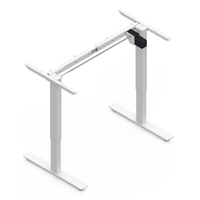 "White Table Lift Motorized With 4 Presets 27"" Wide x 24-1/2"" High"